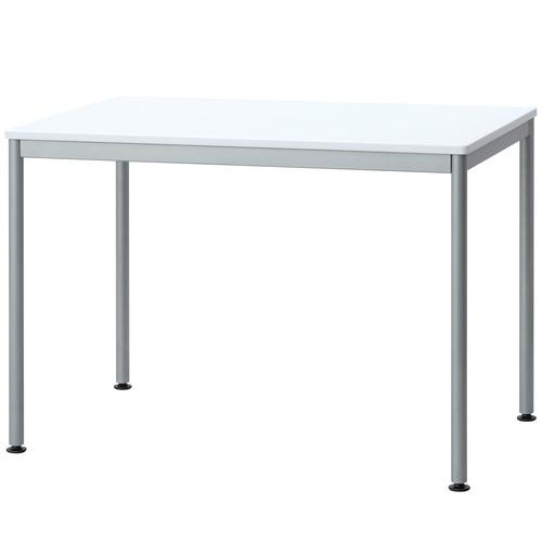 ナカバヤシ ユニットテーブル 幅1000×奥行600mm ホワイト HEM-1060W 1台