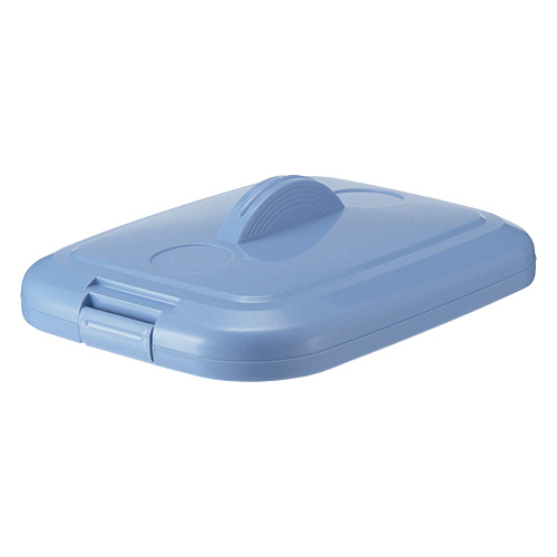 積水テクノ成型 エコポリペール 角型 90L フタ ブルー PEKF90B 1個