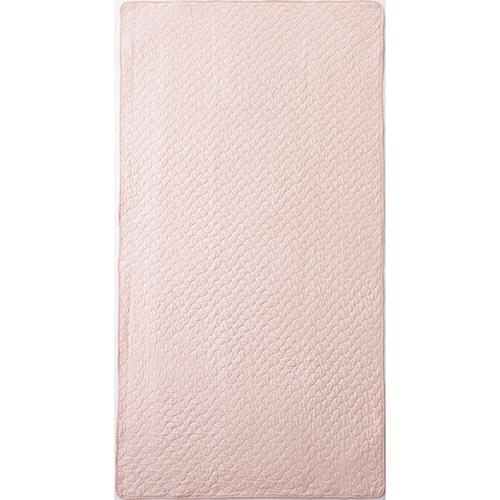 ニッケ商事 水洗いキルト敷きパッド ピンク MPCT60603P 1枚