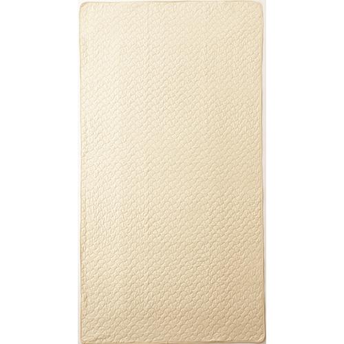ニッケ商事 水洗いキルト敷きパッド ベージュ MPCT60603B 1枚