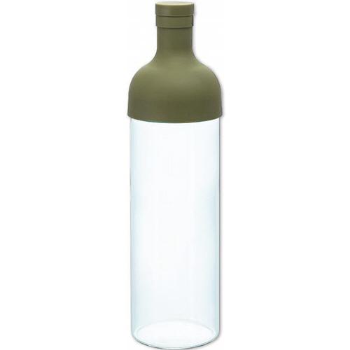 ハリオグラス フィルターインボトル 750ml オリーブグリーン FIB-75-OG 1本