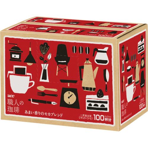 UCC 職人の珈琲 ドリップコーヒー あまい香りのモカブレンド 7g 1箱(100袋)