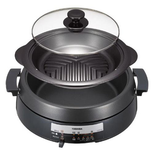 東芝 グリル鍋 ブラック HGN-6J(K) 1台