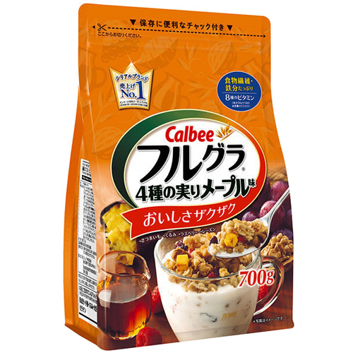 カルビー フルグラ 4種の実りメープル味 700g 1袋