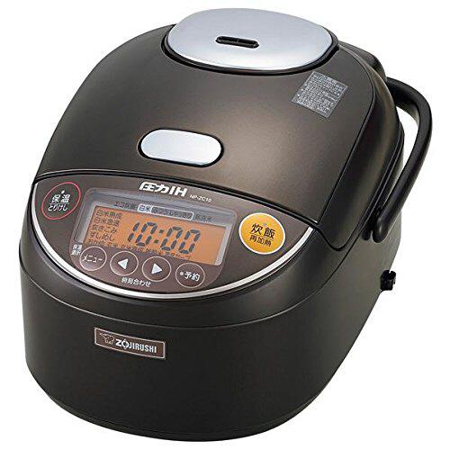 象印 圧力IH炊飯ジャー 極め炊き 黒まる厚釜 5.5合炊き ダークブラウン NP-ZC10-TD 1台