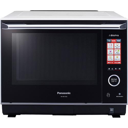 パナソニック Bistro スチームオーブンレンジ ホワイト NE-BS1300-W 1台