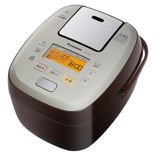 パナソニック 可変圧力IHジャー炊飯器 可変圧力おどり炊き 1升炊き ブラウン SR-PA186-T 1台