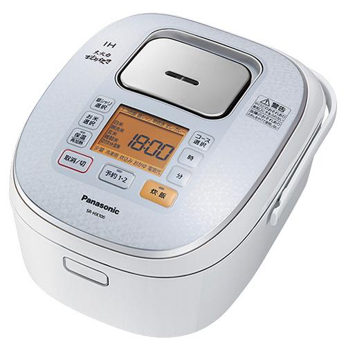 パナソニック IHジャー炊飯器 大火力おどり炊き 5.5合炊き スノーホワイト SR-HX106-W 1台