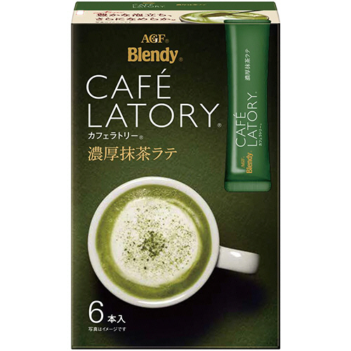 AGF ブレンディ カフェラトリー スティック 濃厚抹茶ラテ 1箱(6本)