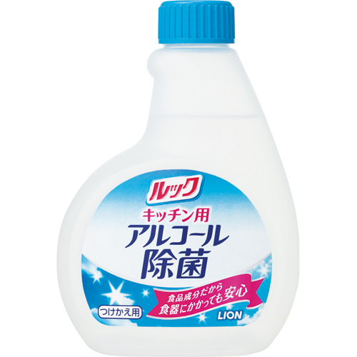 ライオン ルック キッチン用 アルコール除菌スプレー つけかえ用 300ml JSKT*F 1本