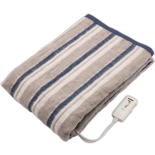 コイズミ 電気掛敷毛布 アレルバスター KDK-7560A 1枚