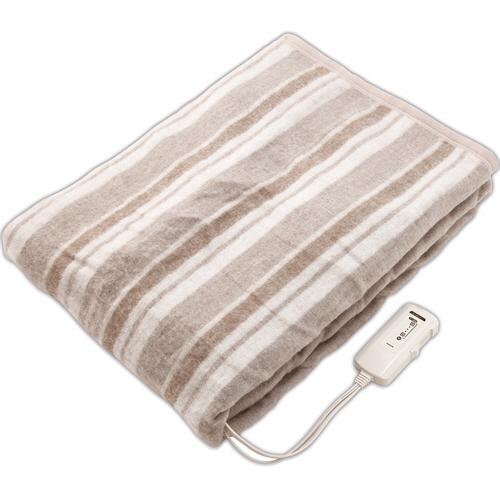 コイズミ 電気掛敷毛布 電磁波カット KDK-7566D 1枚