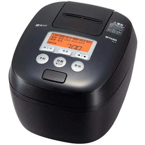 タイガー魔法瓶 圧力IH炊飯ジャー 熱封土鍋コーティング 5.5合炊き ブラック JPC-B100-K 1台