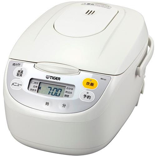 タイガー魔法瓶 マイコン炊飯ジャー 1升炊き ホワイト JBH-G181-W 1台