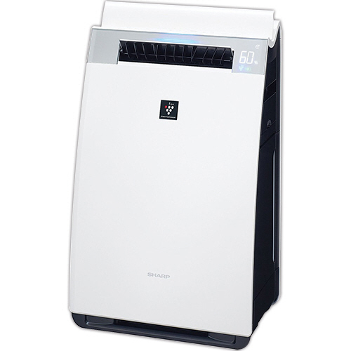シャープ プラズマクラスター加湿空気清浄機 ホワイト系 KI-GX75-W 1台
