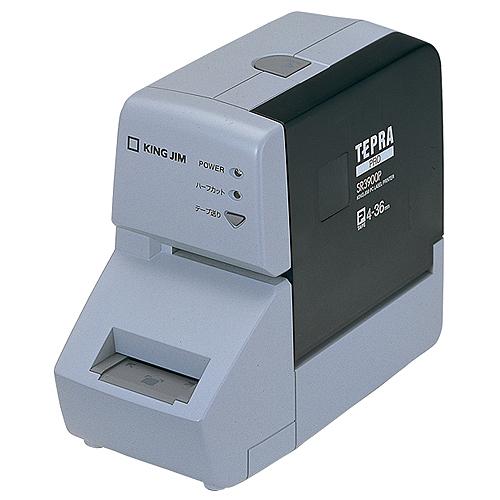 キングジム テプラ PRO PC接続専用 ミディアムグレー SR3900P 1台