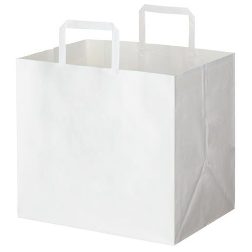 HEIKO Hフラットチャームバッグ 300-1 白 #003277105 1パック(50枚)