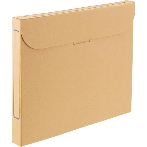 TANOSEE ファイルボックス A4 背幅32mm ナチュラル 1パック(5冊)