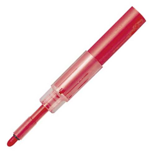 三菱鉛筆 ホワイトボードマーカー ユニお知らセンサーカートリッジ 4mm丸芯 赤 PWBR1004M.15 1本
