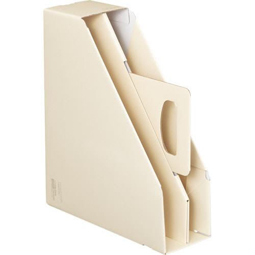 コクヨ ファイルボックス取っ手付き・スタンドタイプ オフホワイト フ-KES470W 1冊