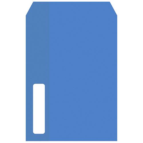 PCA 単票給与明細書用窓付封筒 215×153mm テープ付 PA1112F 1箱(500枚)