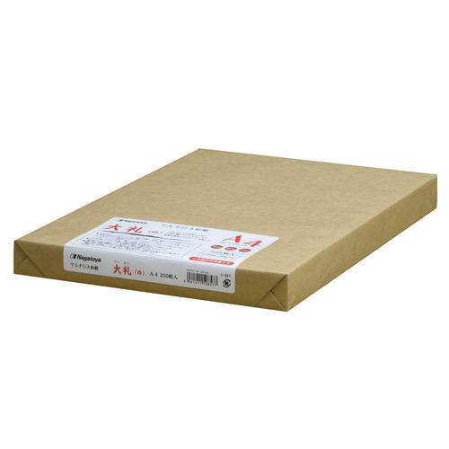 長門屋商店 マルチOA和紙 大礼 白 A4 ナ-857 1冊(250枚)