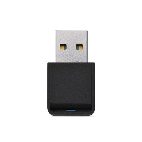 バッファロー AirStation USB2.0用 無線LAN子機 433/150Mbps 11ac・n・a・g・b対応 WI-U2-433DM 1個