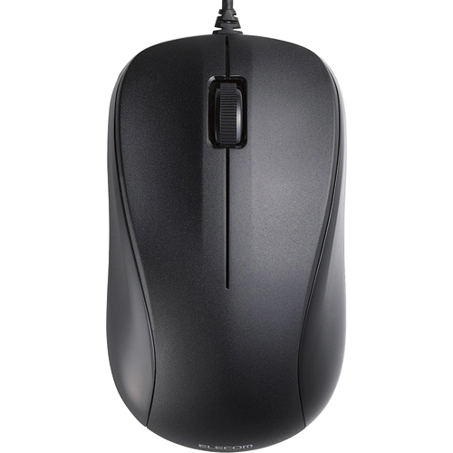 エレコム USBレーザーマウス 3ボタン RoHS指令準拠 ブラック M-S2ULBK/RS 1個