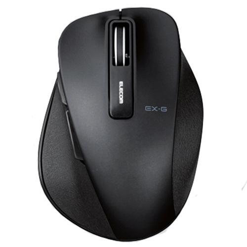 エレコム EX-G ワイヤレスBlueLEDマウス Sサイズ ブラック M-XGS10DBBK 1個