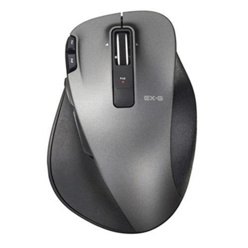 エレコム EX-G Ultimate Laserマウス Lサイズ ブラック M-XGL20DLBK 1個