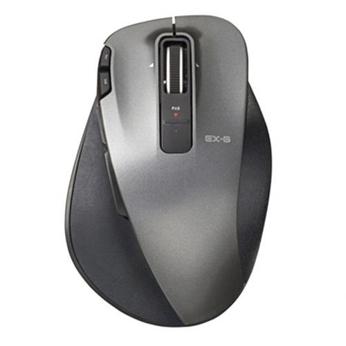 エレコム EX-G Ultimate Laserマウス Mサイズ ブラック M-XGM20DLBK 1個