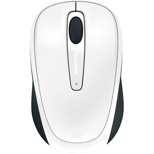 マイクロソフト Wireless Mobile Mouse 3500 グロッシーホワイト GMF-00424 1個