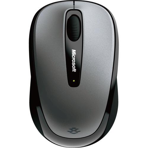マイクロソフト Wireless Mobile Mouse 3500 ユーロシルバー GMF-00423 1個