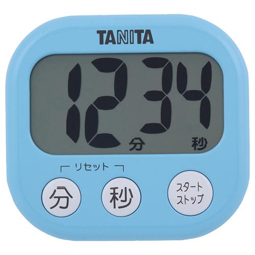 タニタ でか見えタイマー ブルー TD-384BL 1個