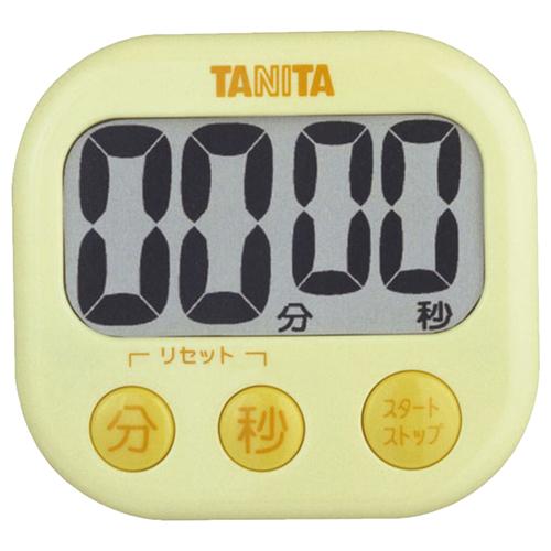 タニタ でか見えタイマー イエロー TD-384YL 1個