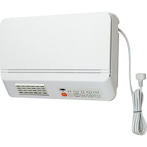 YAMAZEN 脱衣所用DCセラミックヒーター ホワイト DFX-RJ12(W) 1台