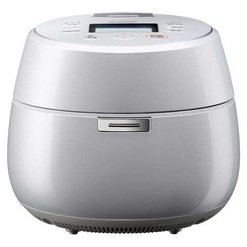 三菱電機 IHジャー炊飯器 本炭釜 KAMADO 5.5合炊き プレミアムホワイト NJ-AW107-W 1台