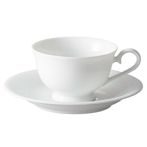 いちがま 白磁丸反兼用高台碗皿 1セット(5客)