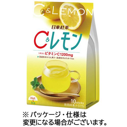 日東紅茶 C&レモン スティック 9.8g 1パック(10本)