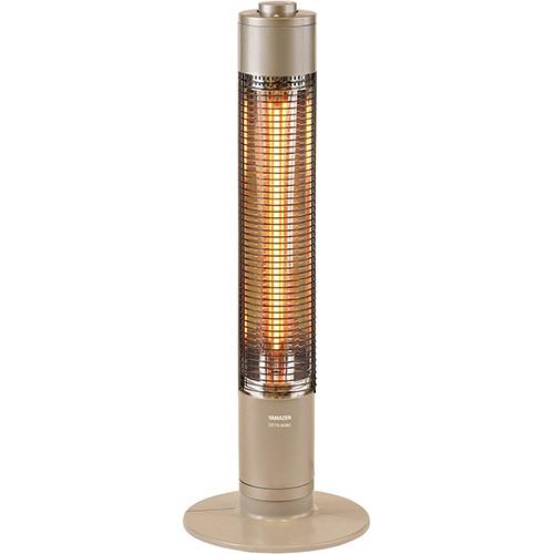 YAMAZEN グラファイトヒーター 900W シャンパンゴールド DCTS-A091(N) 1台