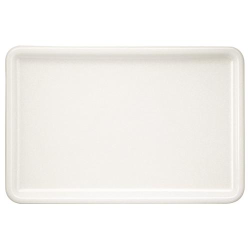 永山樹脂 トレー 角 ホワイト 300×200mm NJ-W04 1枚