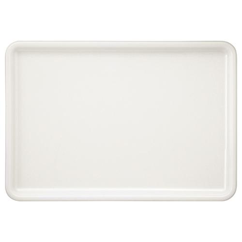 永山樹脂 トレー 角 ホワイト 400×280mm NJ-W03 1枚