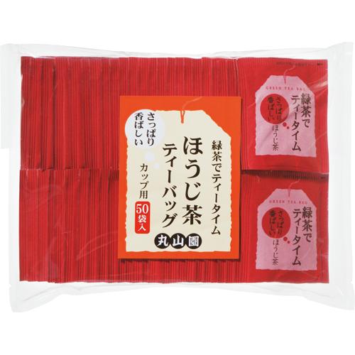 丸山園 緑茶でティータイム ほうじ茶ティーバッグ 1.8g 1パック(50バッグ)