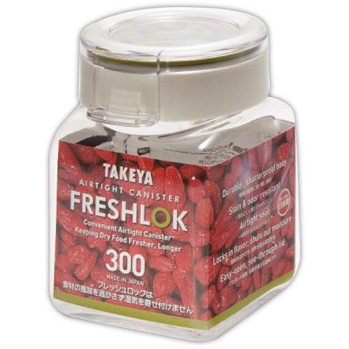 タケヤ化学工業 TAKEYA フレッシュロック 角型 300ml 1個