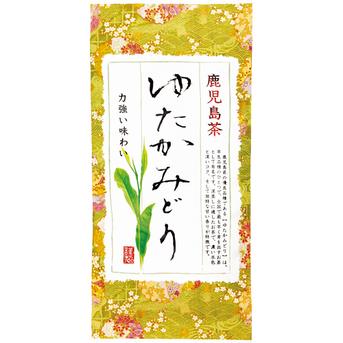 健康お茶家族本舗 鹿児島茶 ゆたかみどり 100g 1袋