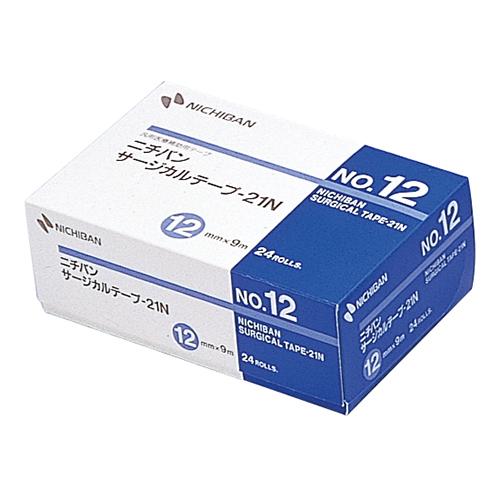 ニチバン サージカルテープ-21N No.12 12mm×9m STN12 1箱(24巻)