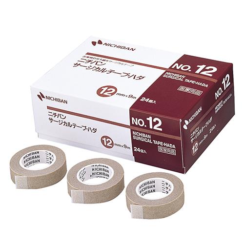 ニチバン サージカルテープ・ハダ No.12 12mm×9m STH12 1箱(24巻)