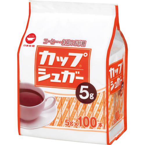 日新製糖 カップシュガー 5g 1パック(100本)