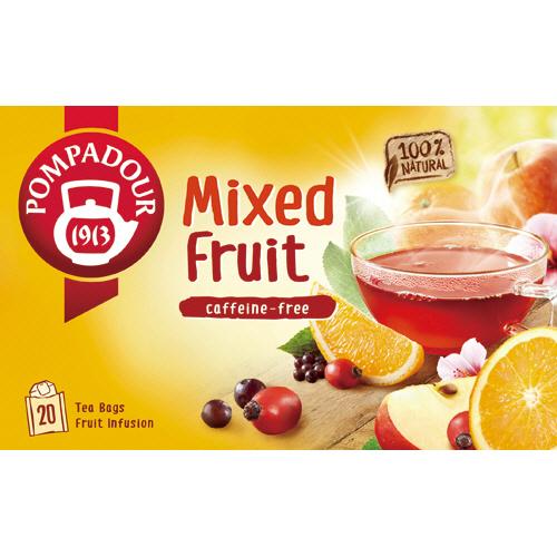 ポンパドール ミックスフルーツ 3g 1箱(20バッグ)