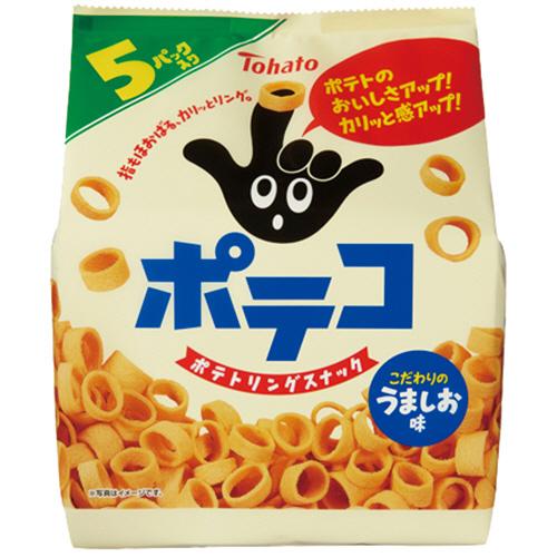 東ハト ポテコ うましお味 24g/袋 1パック(5袋)